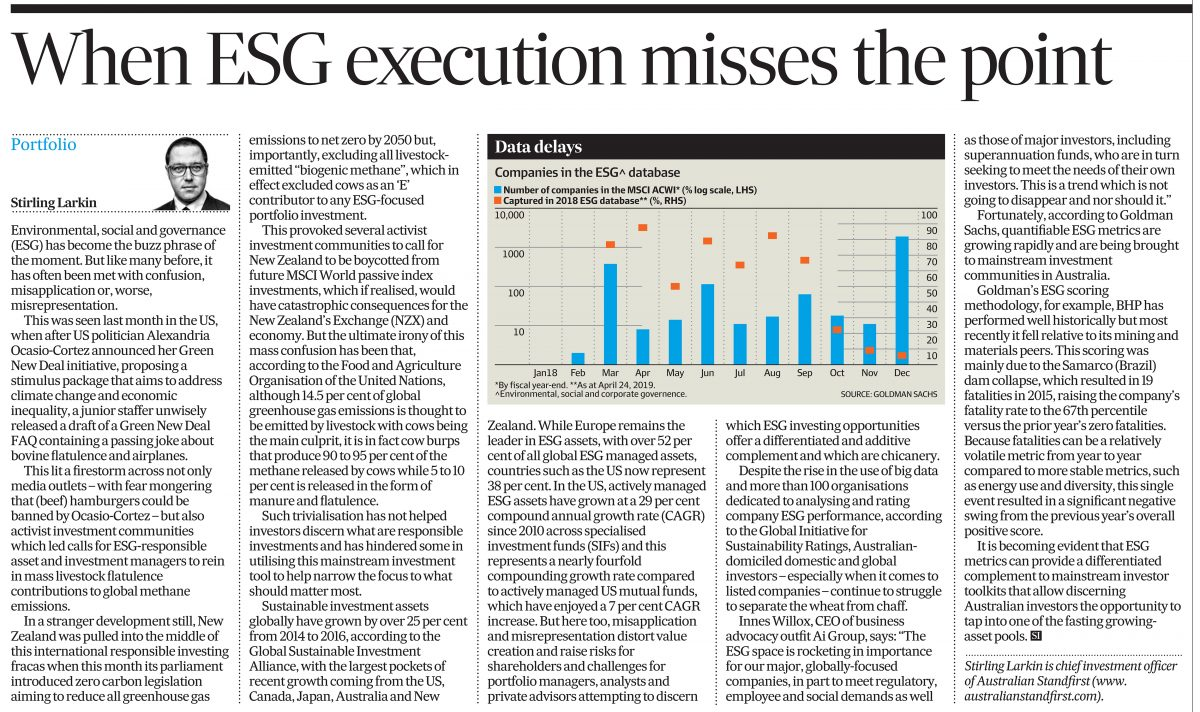 When ESG Execution Misses The Point